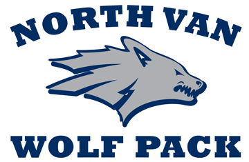 North Vancouver Wolf Pack Logo