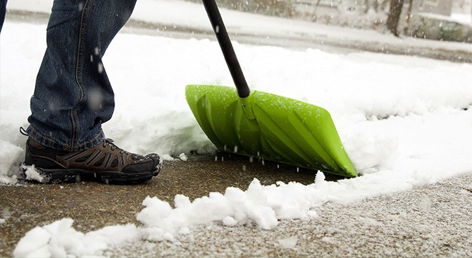 snow shovelling tips