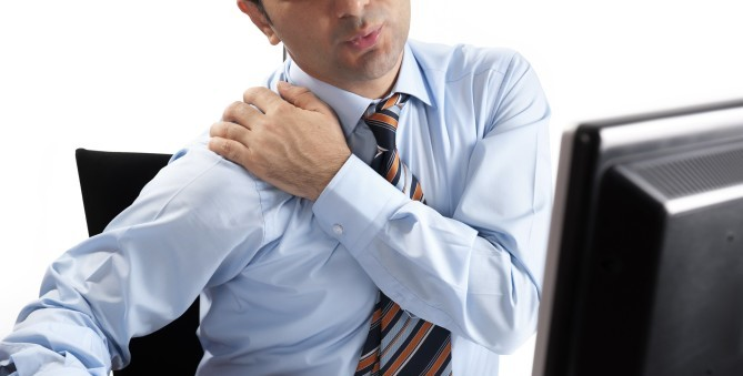 Reduce Neck Pain with Office Stretches